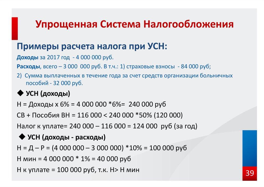 Как оплатить налог 6 процентов ип программа повышения квалификации бухгалтеров